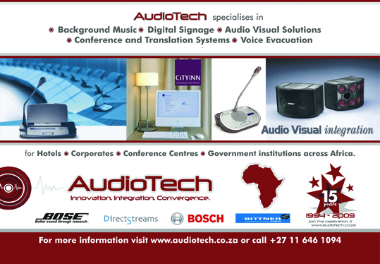 Audiotech Inc